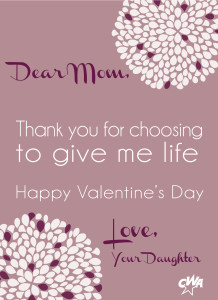 happy valentine's day to my mother and aborted sibling | concerned, Ideas