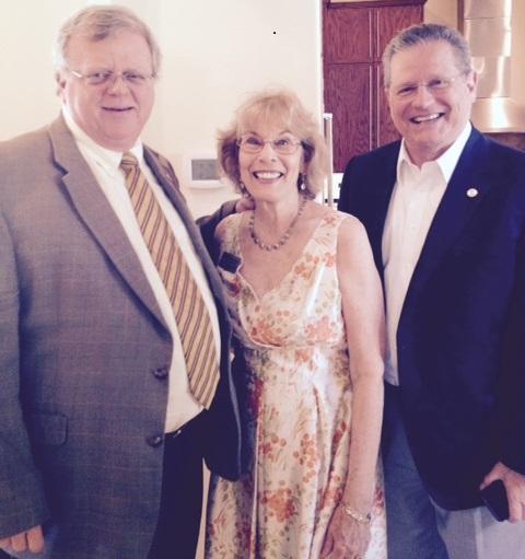 Senator Paul Bettencourt and Representative Rick Miller b