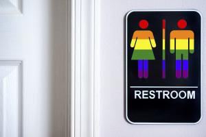 LGBT Bathroom sign