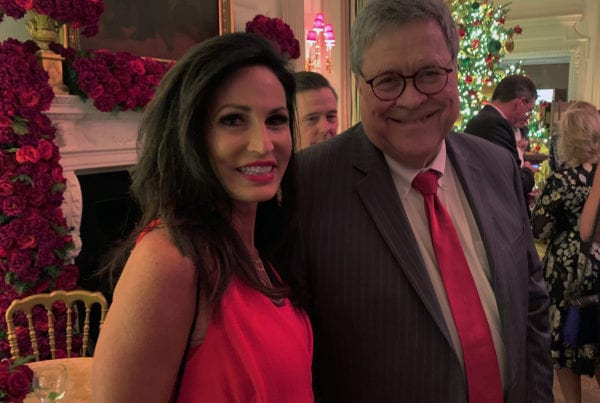 Penny Nance with Attorney General Barr