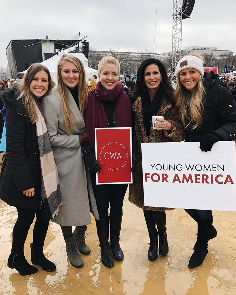 CWA staff at 2019 March for Life