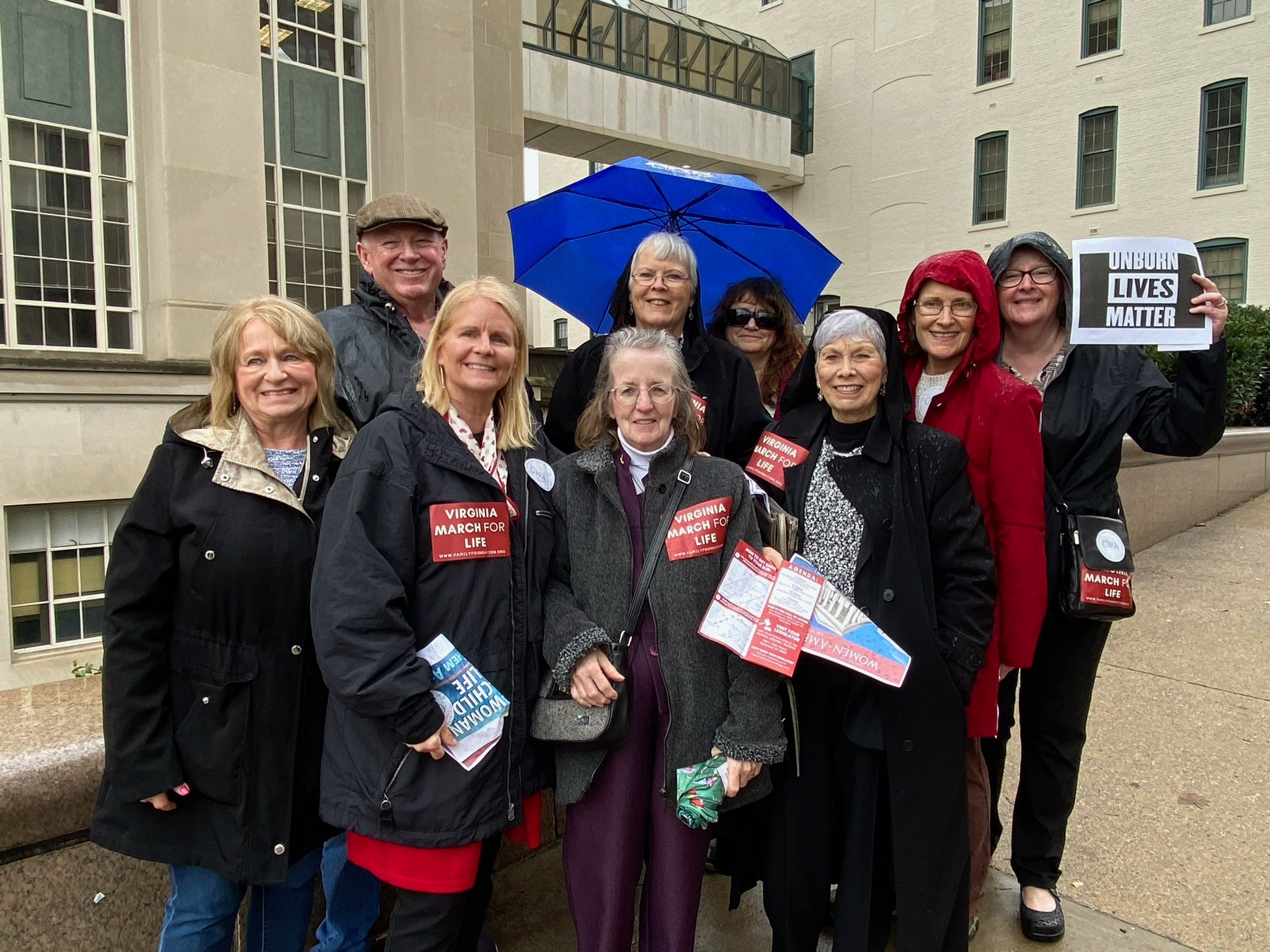 CWA of Virginia Marches for Life in Virginia